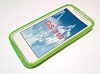 Чехол силиконовый однотонный для HTC Desire 310 зеленый