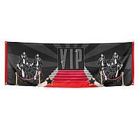 Баннер -фотозона  Голливуд VIP