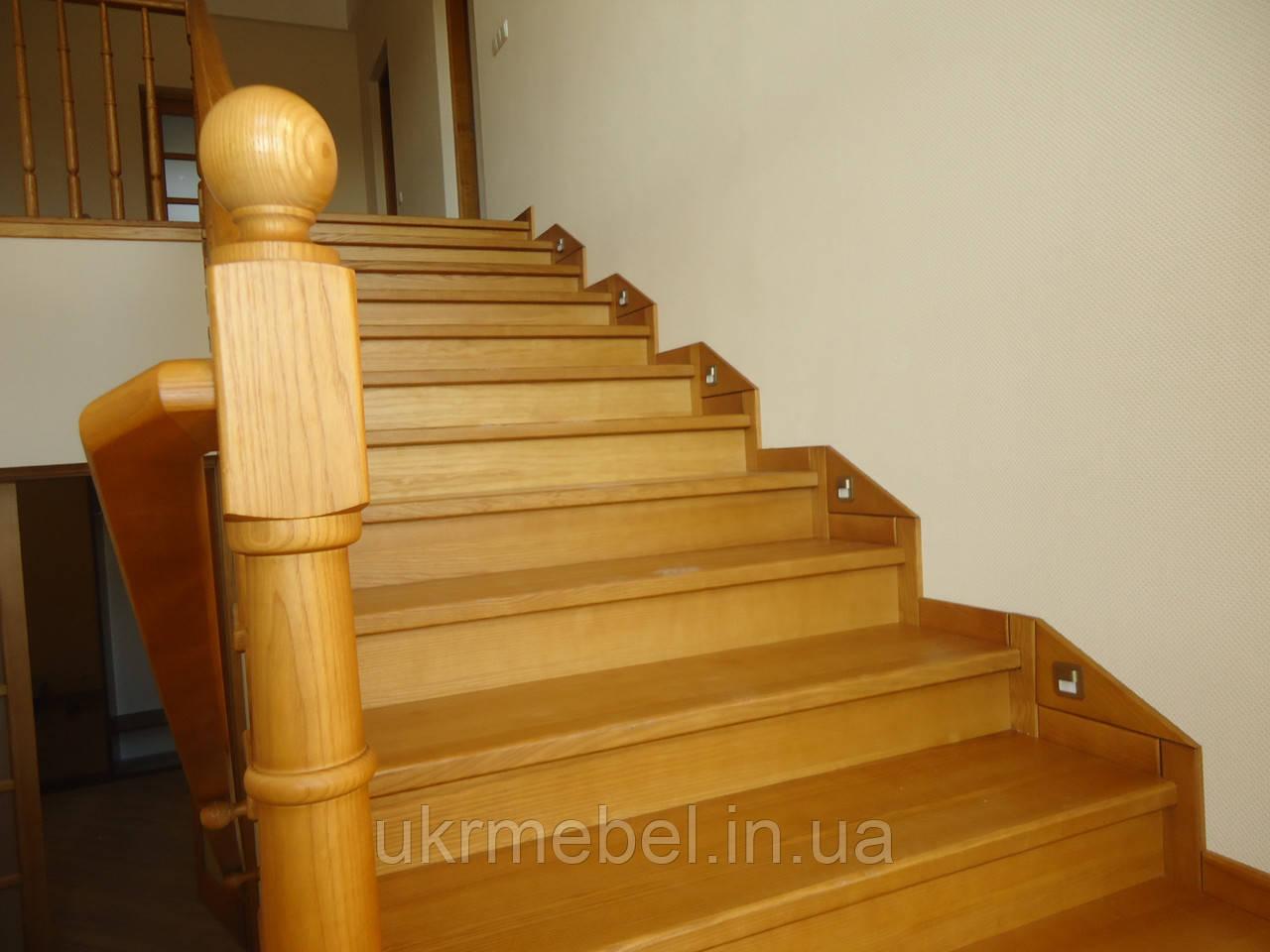 Лестницы из дуба. Лестницы дубовые