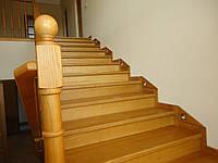 Лестницы из дуба. Лестницы дубовые, фото 1