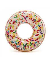 Intex надувний круг Пончик з посипанням