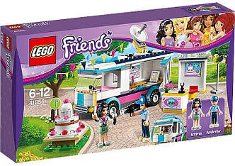 LEGO 41056 Friends - Фургон новин Хартлейк (Лего Френдс Новостной фургон Хартлейк)