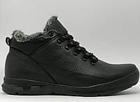 Ботинки мужские зимние Clm 9903_1 YH черные реплика