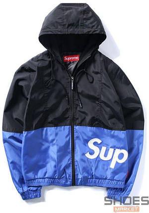 Куртка Supreme Blue Bottom Black Top (ориг.бирка), фото 2