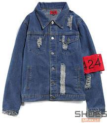 Куртка FourTwoFour Jeans Blue (ориг.бирка)