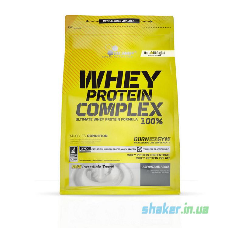 Сывороточный протеин концентрат Olimp Whey Protein Complex 100% (2,27кг) олимп вей комплекс клубника