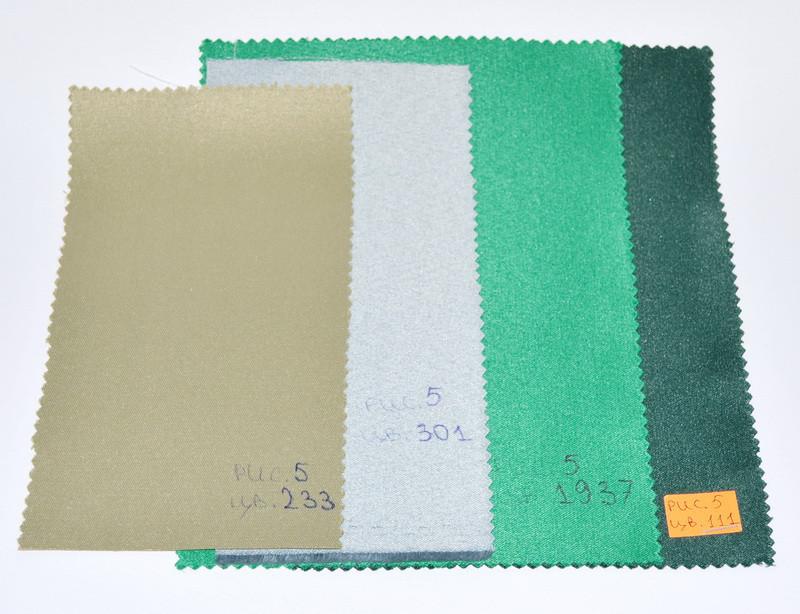Тканина для Скатертин Однотон-155 (Рис.5 Зелені тони) з Тефлоновим просоченням 155см