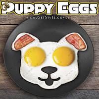 "Форма для яичницы - ""Puppy Eggs"" - 13.5 х 13.5 см. , фото 1"