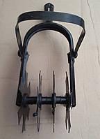 Культиватор ручной 4-х рядный с металлическим рыхлителем