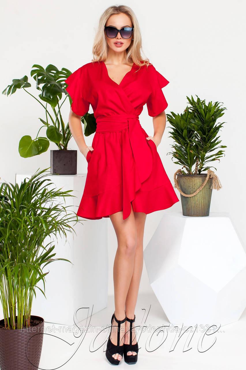 Платье Нарциси красный