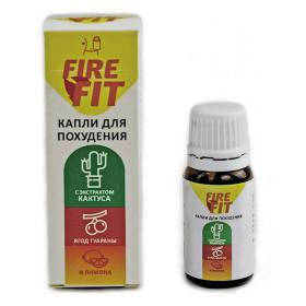 Капли для похудения FIRE FIT, фото 2