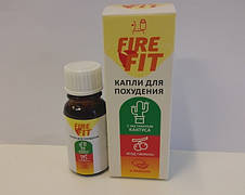Капли для похудения FIRE FIT, фото 3