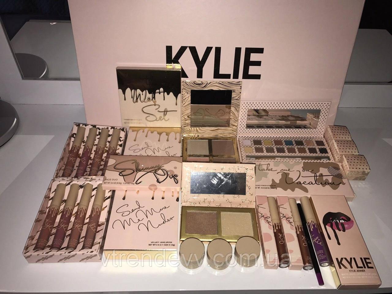 Набор косметики подарочный Kylie Vacation Edtion Gift Box (бежевый)