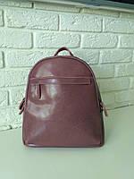 """Женский кожаный рюкзак """"Карина Lilac"""", фото 1"""