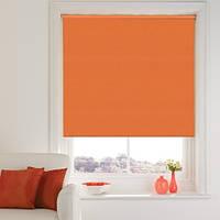 Тканевые ролеты оранжевые