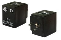 Электромагнитная катушка 24 В постоянныйток компании ODE (Italy), 8 W, 30 мм x Ø13, фото 1