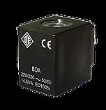 Электромагнитная катушка 220 В переменный ток компании ODE (Italy), 8 W, 30 мм x Ø13, фото 2