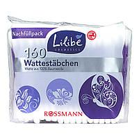 Lilibe Wattestäbchen Nachfüllpack - Ватные палочки