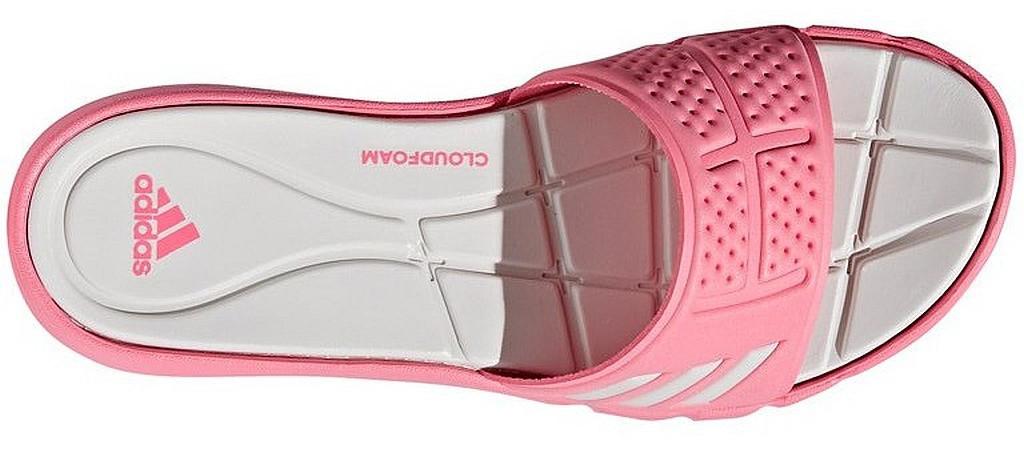 a3a1b928955c Оригинальные женские шлепанцы Adidas Adipure Cloudfoam