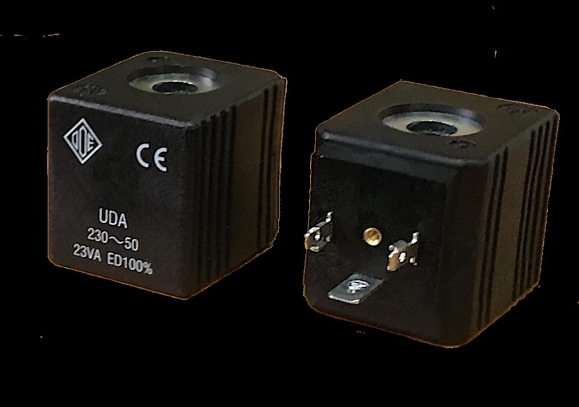 Электромагнитная катушка 110 В переменный ток компании ODE (Italy), 12 W, 36 мм x Ø13