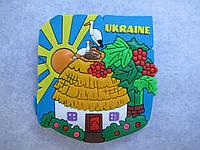 """Магнит """"Українська хата"""", украинский сувенир"""