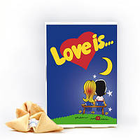 Печенье с предсказаниями Love is...
