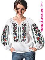 Заготовка для вишивки бісером/нитками жіночої сорочки