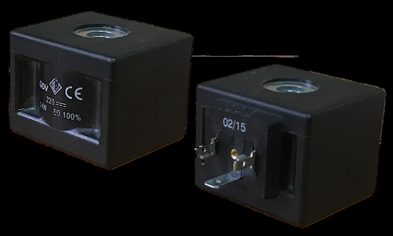 Электромагнитная катушка 24 В постоянный ток компании ODE (Italy), 14 W, 52 мм x Ø13