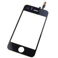 Тачскрин (сенсор) для Apple iPhone 3G + lens чёрный