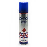 Газ для заправки зажигалок London 300 ml(оригинальный)