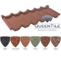 Композитная металлочерепица Queentile Стандарт производство Украина.