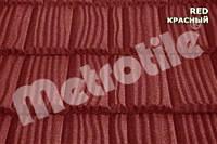 Композитная черепица Metrotile ,Shake (шейк) ,Red