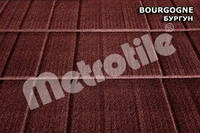 Композитная черепица Metrotile SHINGLE (шингл) Bourgogne