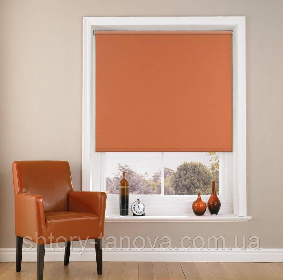 Рулонные шторы украина светло-коричневые