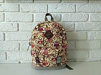 """Повседневный рюкзак с ярким принтом """"Birds 1a"""", фото 1"""
