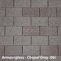 Мягкая битумная черепица IKO Armourglass 06 Chapel Grey