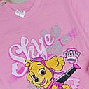 Детская футболка на девочку Щенячий патруль Размеры 1- 3 года Турция, фото 2