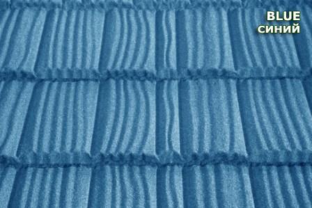Композитная черепица Metrotile Shake( Blue)