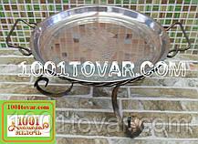 LUX кованная подставка садж для шашлыка или таганок, 36х20 см.
