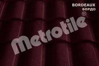 Metrotile Roman бесшумная металлочерепица