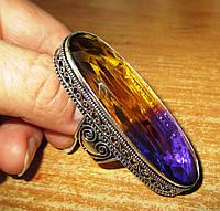 Серебряный перстень с аметрином 19 размера от LadyStyle.Biz, фото 1
