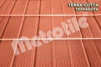 Композитная черепица Metrotile SHINGLE (шингл) Terracotta