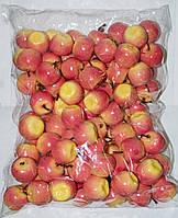 Искусственныые яблоки упаковка, муляж фруктов, фрукты для декора