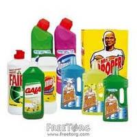 Бытовая химия : порошки стиральные, мыло, чистящие, моющие и дезинфицирующие средства,, фото 1