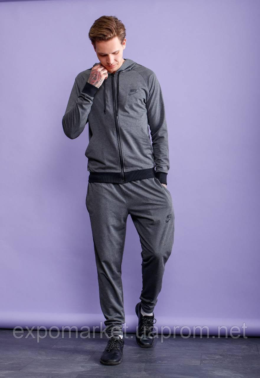 Мужской спортивный костюм nike турецкий трикотаж, весна-лето