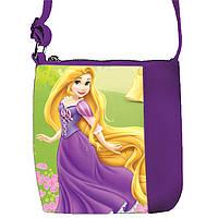 Фиолетовая сумочка с принтом Рапунцель