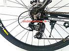 """Горный велосипед Winner Impulse 29 дюймов 18"""" черный, фото 8"""