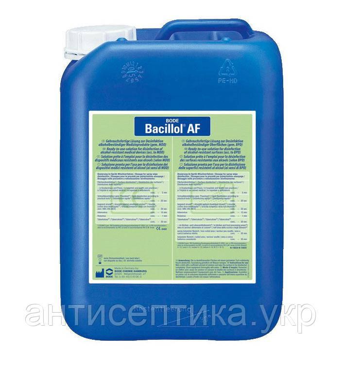 Бациллол АФ 5л быстрая дезинфекция поверхностей и ИМН