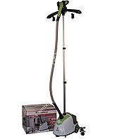 Отпариватель для одежды вертикальный+вешалка Grunhelm GS609C