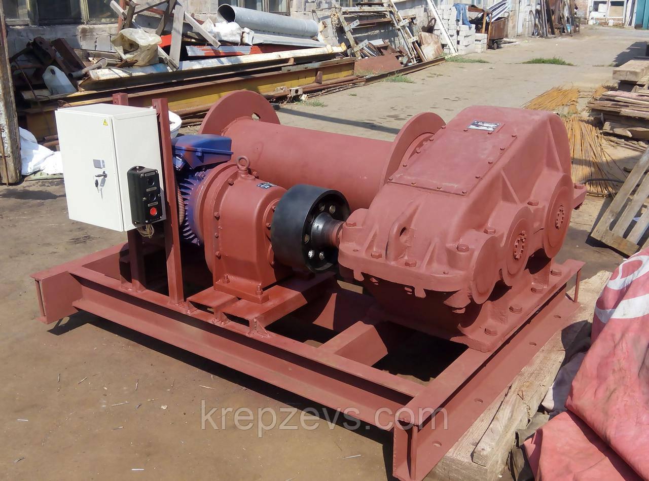 Лебедка тяговая ТЭЛ-10Д